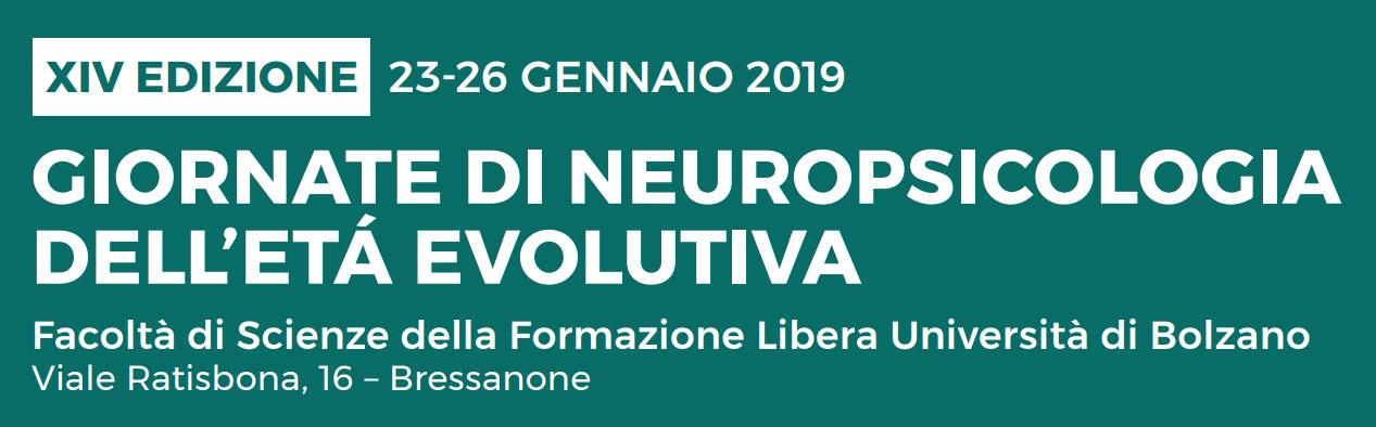 quattordicesima edizione delle giornate di neuropsicologia della età evolutiva